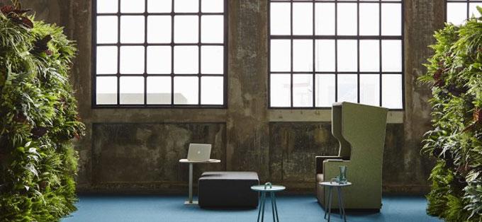 Moquetas sueltas y alfombras para oficinas