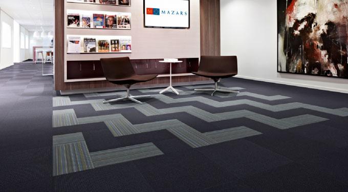 Pavimento textil de alta tecnología