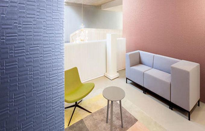 Revestimiento de paredes con efecto 3D