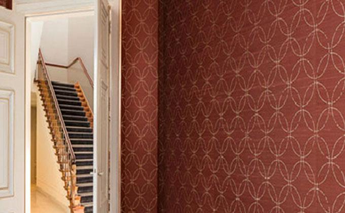 Nueva colección de revestimientos murales de seda
