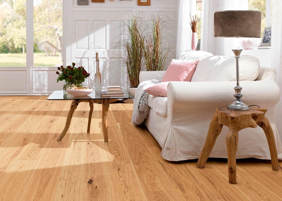 Suelo de madera para salas de estar