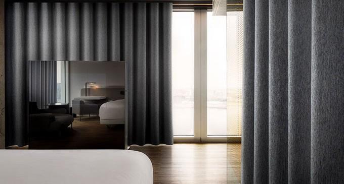 Telas de cortinas coreano padres geomtricos de alta - Telas para cortinas ...