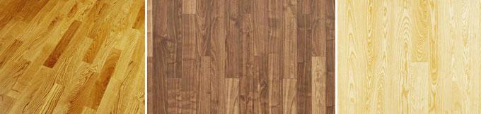 Variedades de madera para parquets